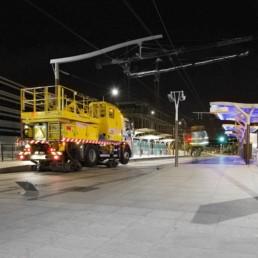 Réseaux tramway et métro (j)